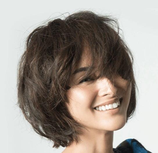 モデル クリス-ウェブ桂子さん